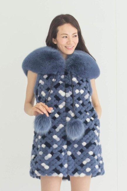 [:en]MOSAIQUE de CHIE Outerwear Vest [:ja]モザイク・ドゥ・チエ アウターウェアベスト [:]