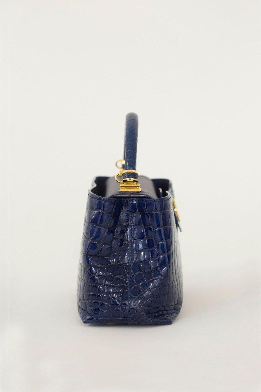 [:en]Rectangular Crocodile Bag[:ja]クロコダイルバッグ[:]
