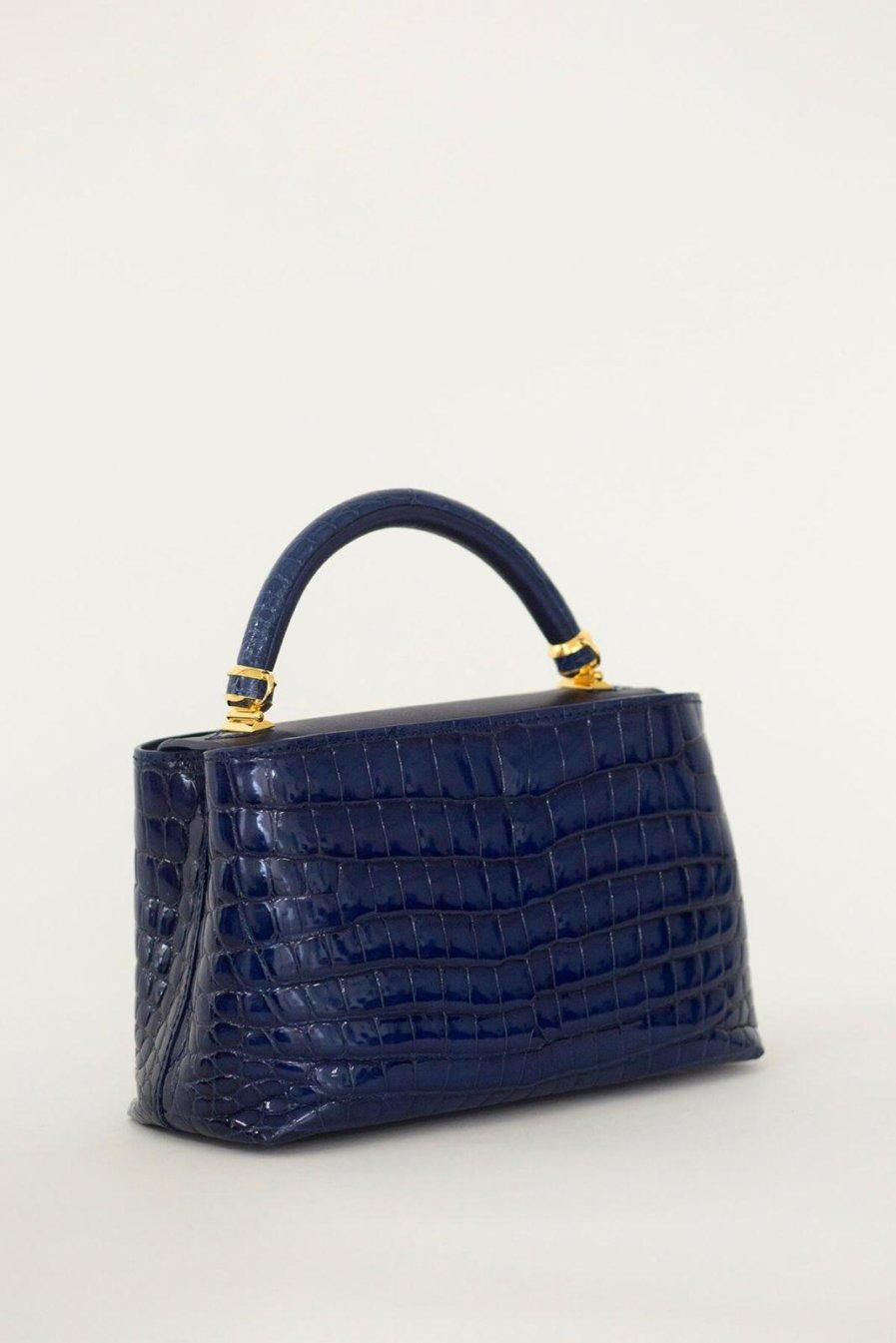 [:en]Rectangular Crocodile Bag[:ja]クロコダイルバッグ[:]