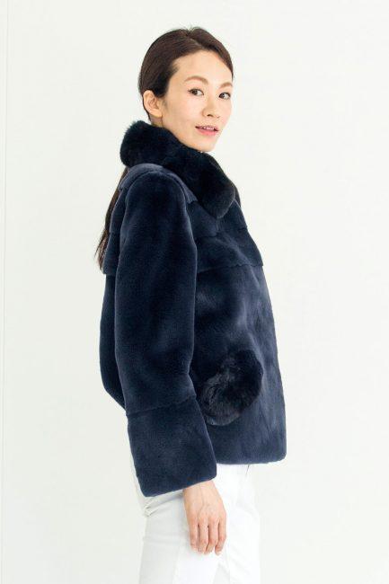 [:en]Plucked Mink Chinchilla Jacket[:ja]プラクトミンク・チンチラジャケット[:]