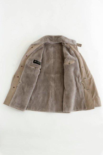 [:en]Calf Jacket With Beaver Lining[:ja]カーフ・ビーバージャケット[:]