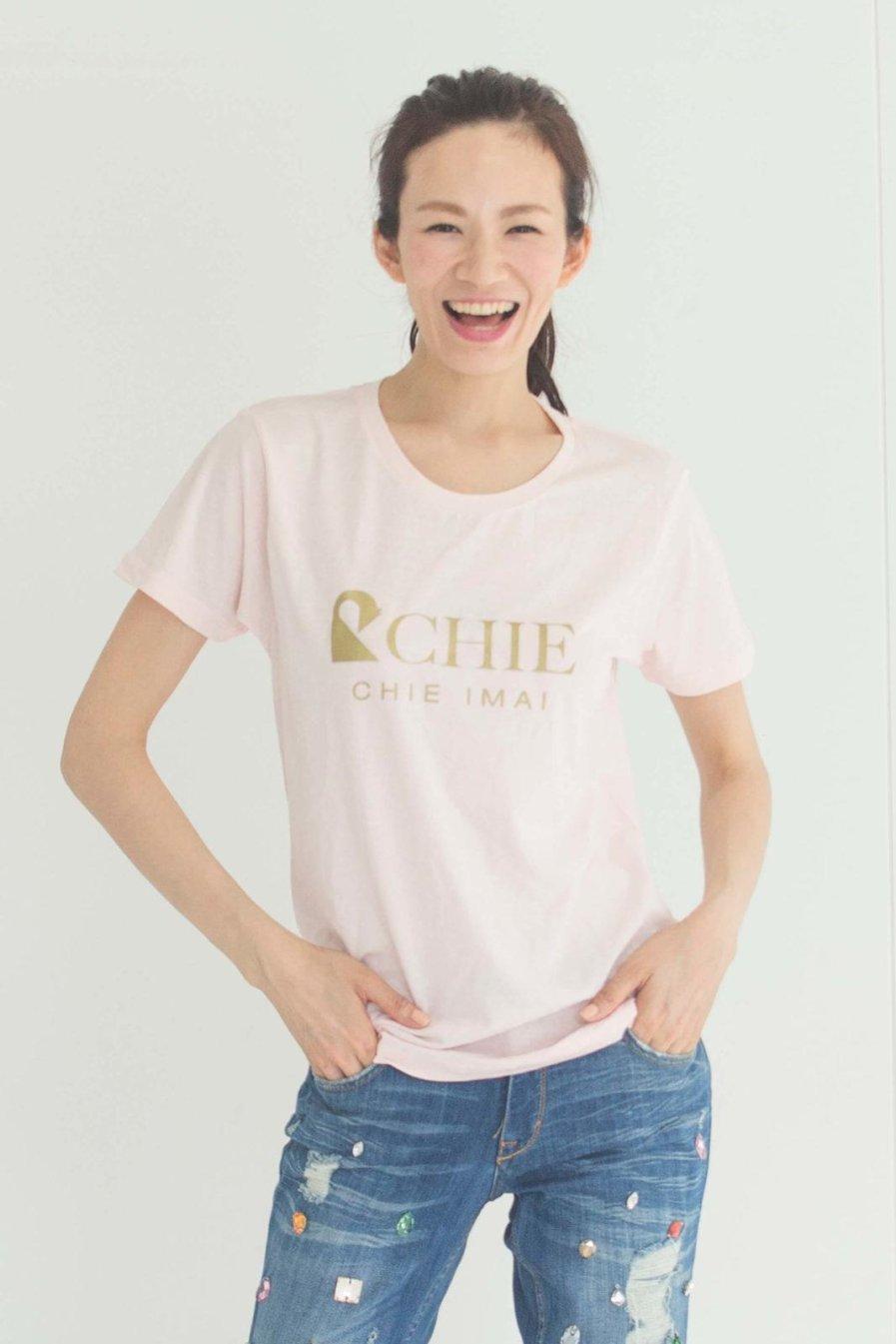 [:en]CHIE Cotton T[:ja]CHIEロゴ入りTシャツ[:]